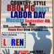 Labor day BBq & Pig Roast