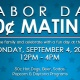Labor Day 50¢ Racing Matinee
