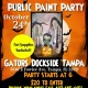 Tampa Public Halloween Paint Party
