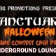 Sanctuary Halloween - Cash Prizes - Saturday October 28th
