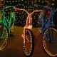 RED STAR SANTA Bicycle RIDE