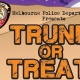 Trunk or Treat with the Melbourne Police Department