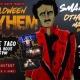 Halloween Mayhem: Live Bands + Free Tacos
