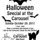 Children's Halloween Party at Bushnell Park Carousel