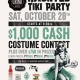 Fluid Magazine and Grind Gastropub's Haunted Tiki Party