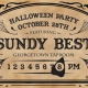 Halloween Party with Sundy Best