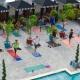 Yoga Poolside