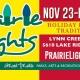 Prairie Lights (Nov. 23-Dec. 31)