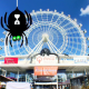 Trick Or Treating At The Orlando Eye I-Drive 360