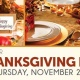 Join us for our Thanksgiving Day Champagne Buffet!