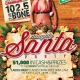 BCSK Presents: Naughty Santa 2017, wsg 102.5 The Bone's Carmin!