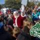 Santa lands at the Pink Palace!