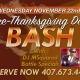 Pre-Thanksgiving BASH at Mango's!