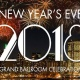 NYE 2018 – Grand Ballroom Celebration