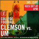 Clemson vs. UM Watch Party at Foxhole