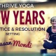New Years Day Practice and Resolution Setting with Susan Mondi