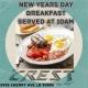 Free New Year Day Breakfast
