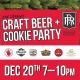 Craft Beer & Cookie Party