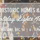 Historic Homes & Holiday Lights Bike Tour