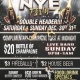 New Years eve Double header partys