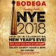 New Year's Eve at Bodega South Beach