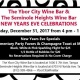 New Years Eve Celebration at the Seminole Heights Wine Bar