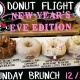 Donut & Beer Pairing Flight (New Year's Eve Edition)