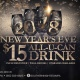 New Year's Eve 2018 ALL You CAN DRINK