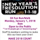 Titusville YMCA New Year's Resolution 5K Fun Run/Walk