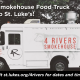 4Rivers Smokehouse food truck will be at St. Luke's UMC each Wednesday during the month of May!