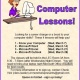 FREE Basic Computer Lessons!