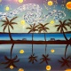 Wine & Canvas Painting Class: Starry Mission Bay