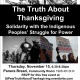 The Truth About Thanksgiving - Solidarity with the Indigenous Peoples' Struggle