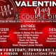 Valentine's Day 3-Course Dinner
