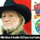 Wille Nelson Concert at Space Coast Seafood and Music Festival