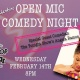 My Funny Valentine — Open Comedy Night at Truck Stop