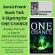 Sarah Frank, Tampa teen author of ONE CHANCE, Book Talk and Signing event