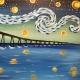 Wine & Canvas Painting Class: Starry Coronado