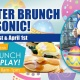 Easter Brunch with Sonic!