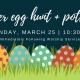 Easter Egg Hunt + Potluck Lunch
