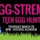 EGG-Streme Teen Egg Hunt