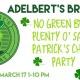 No Green Beer Plenty of Saint Patrick's Cheer Party