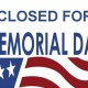 Memorial Day - Studio Closed