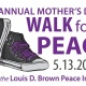 22nd Annual Mother's Day Walk for Peace