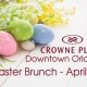 Easter Brunch at Crowne Plaza