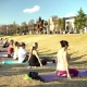 Free! Yoga at the Park with King of Pops