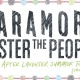 Paramore: The After Laughter Summer Tour (Tour 5)