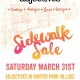 Sidewalk Sale at ADJ Winter Park
