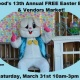 13th Annual Easter Egg Hunt and Vendors Market