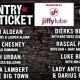 2018 Jiffy Lube Country Megaticket